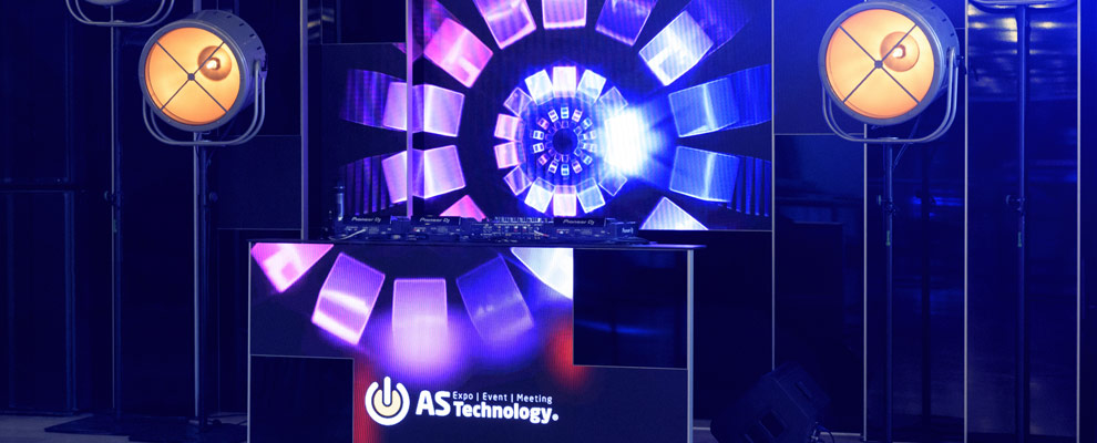 AS Technology - DJ Booth