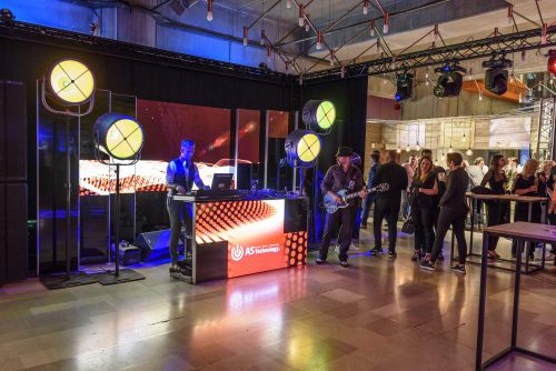 DJ Booth by AS Technology with LEDskin at BEA Awards 2018